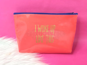 High Shine Makeup Bags- 6 options available!