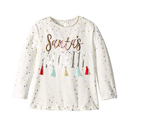 Mud Pie Santa's Favorite Tee