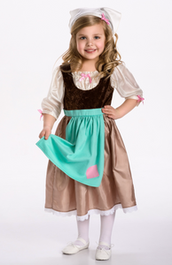 Cinderella Day Dress with Scarf
