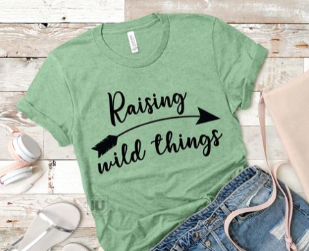 Raising Wild Things Tee