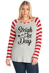 Sleigh All Day Long Sleeve