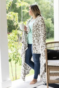 Natural Leopard Blanket