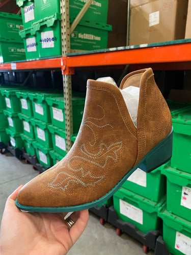 Turquoise Western Boots