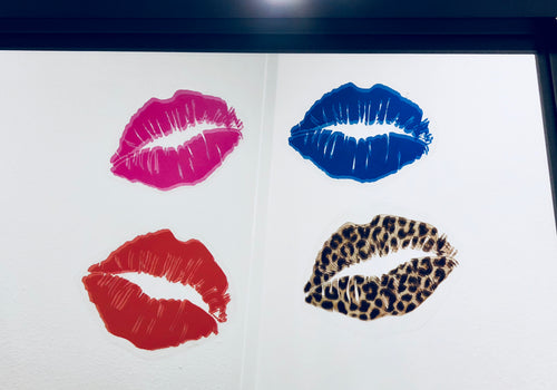 Lips Mirror Stickers