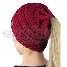 Messy Bun Beanie- 5 colors available!