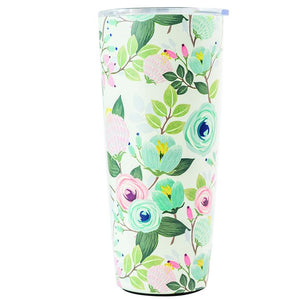 Stainless Large Tumbler- Blossoms Collection