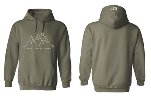 FACE YOUR FEARS - MOUNTAIN HOODIE