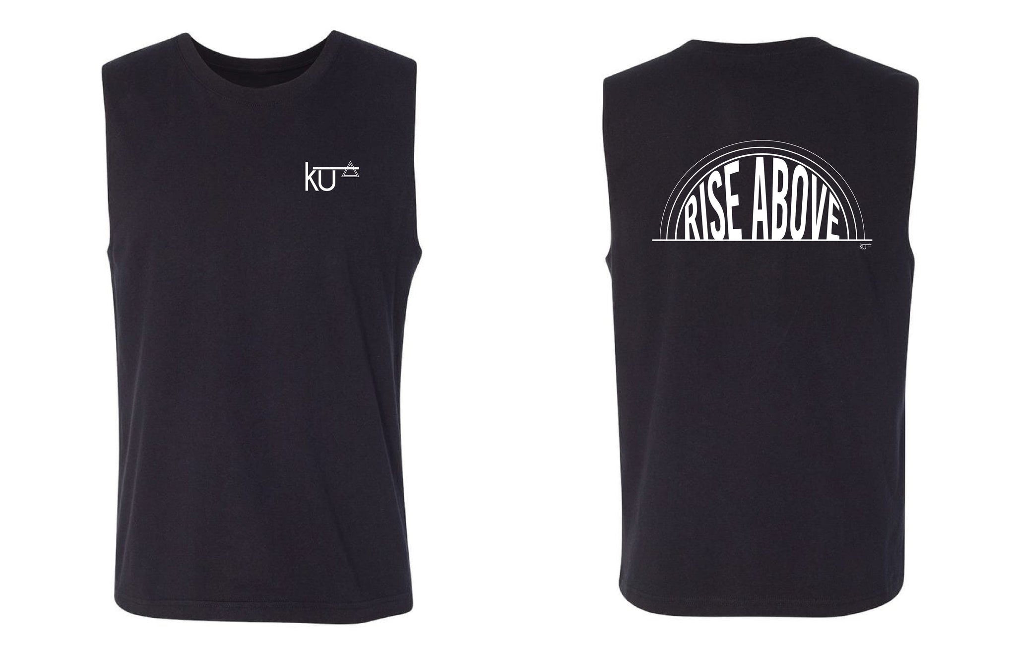 RISE ABOVE MUSCLE TEE