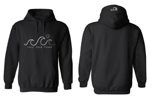 FACE YOUR FEARS - WAVE HOODIE