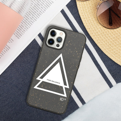 Find Balance iPhone case [Biodegradable]