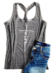 Faith Racerback Tank