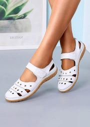 Summer Hollow Out Round Toe Sandals