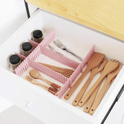 4Pcs Adjustable Drawer Dividers