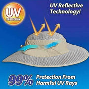 Outdoor Sunscreen Cooling Hat