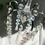 Rainbow Crystal Wind Chime