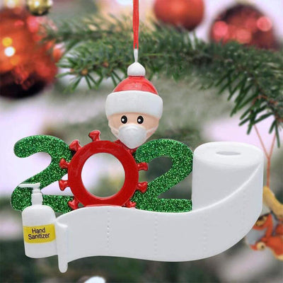 2020 Survivor Family Christmas Tree Hanging Pendant Ornament
