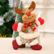 Santa Claus Reindeer Bear Doll Christmas Tree Hanging Pendant Ornament