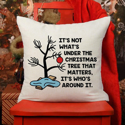 Christmas Tree Letter Pillowcase without Pillow