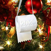 2020 Toilet Paper Crisis Christmas Tree Hanging Ornament