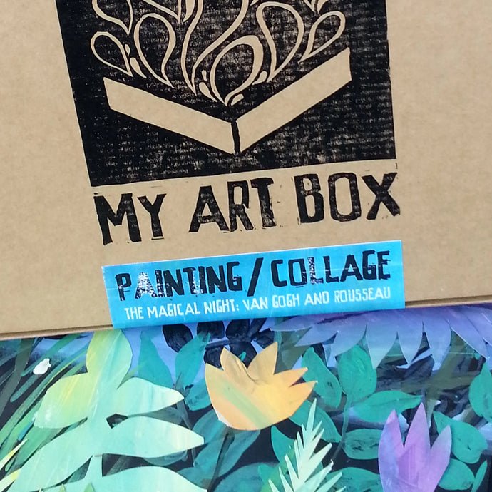 Painting and Collage Box
