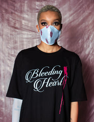 Bleeding Heart T-Shirt Black - Unisex