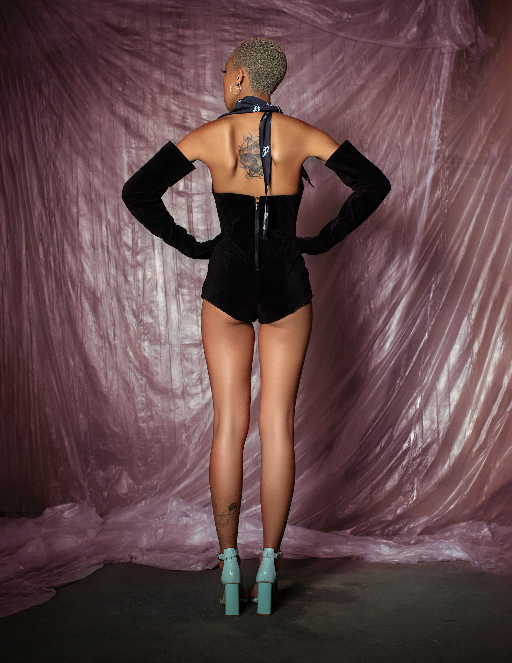 Romance Bodysuit - Black