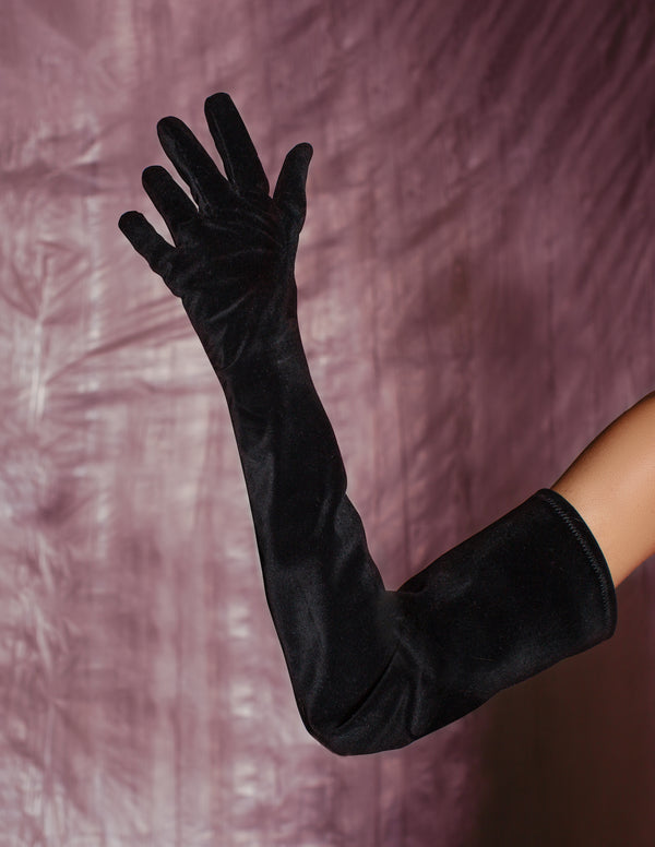 Romance Gloves - Black