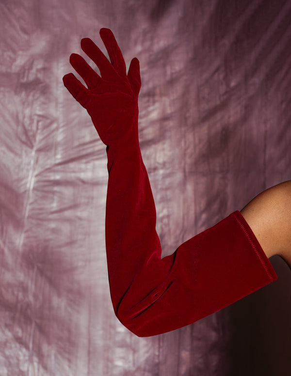 Romance Gloves - Red