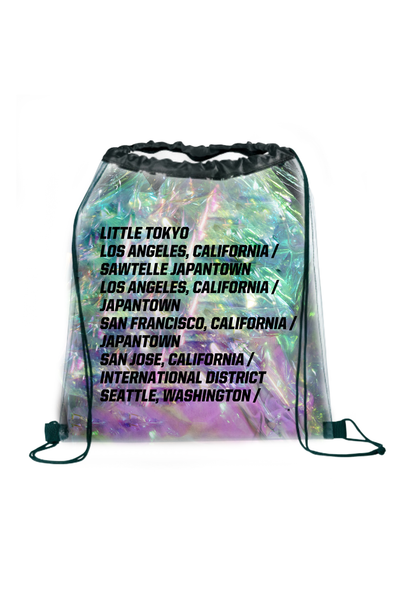 JapanTown Iridescent BackPack