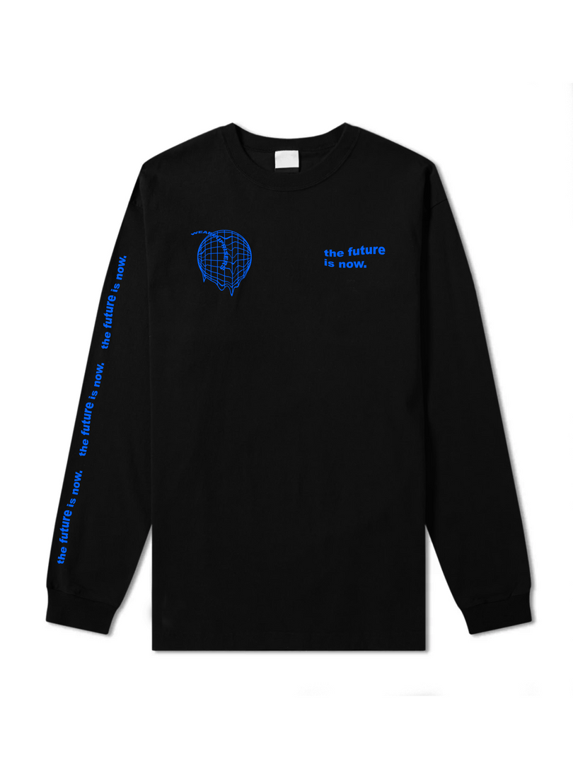 THE FUTURE IS NOW World Long Sleeve
