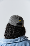 Asia Jackson MORENX x UPRISERS Gray Embroidered Baseball Cap
