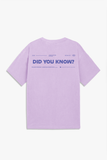 The Future Is Now II Lavender Tee
