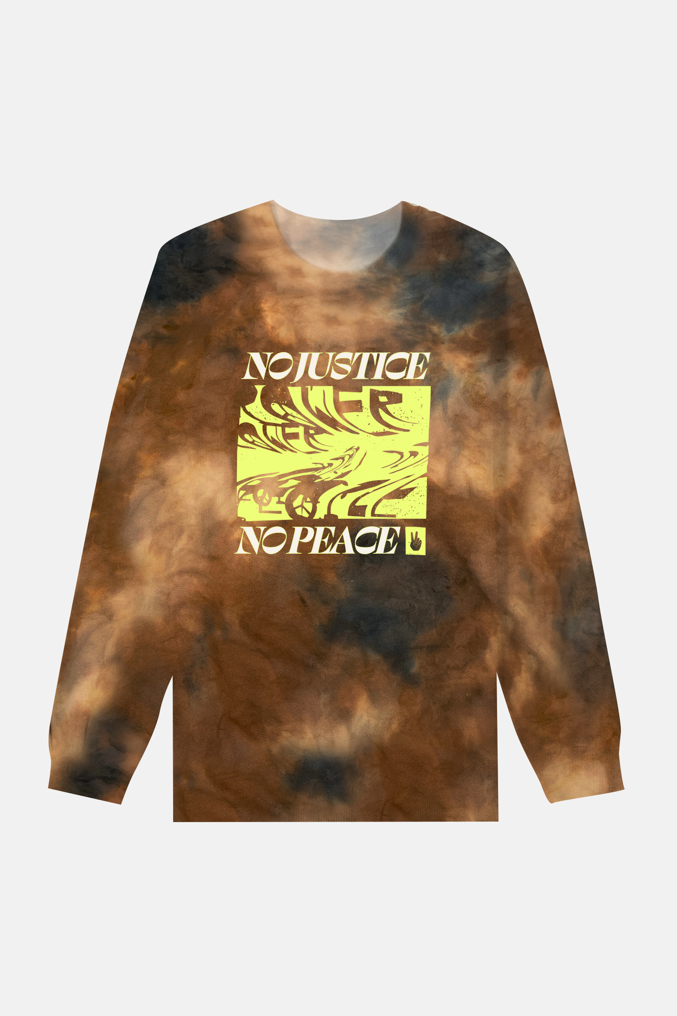 No Justice No Peace Long Sleeve Tee