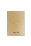 MILCK MUSIC Gold Notebook