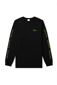 Mark Redito Neutropical Unisex Black Long Sleeve Graphic T-Shirt