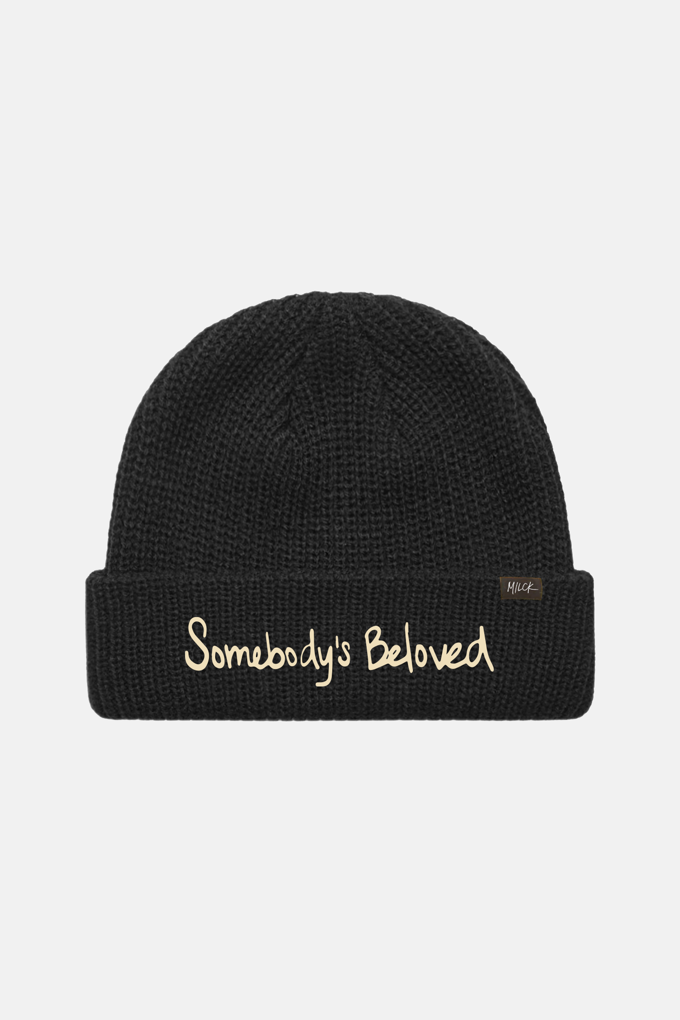 MILCK | Somebody's Beloved Black Beanie
