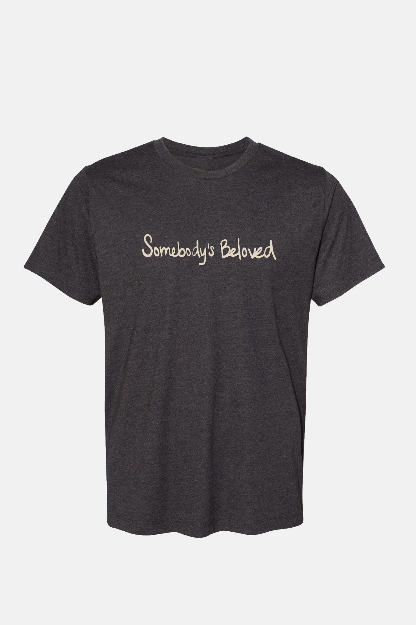 MILCK Somebodys Beloved Lightweight Vintage Black Soft Tee