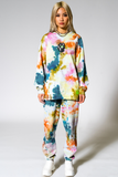 Gaia Tie Dye Long Sleeve Sweat Set
