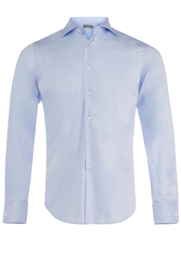 Blue Double Cuff Formal Shirt