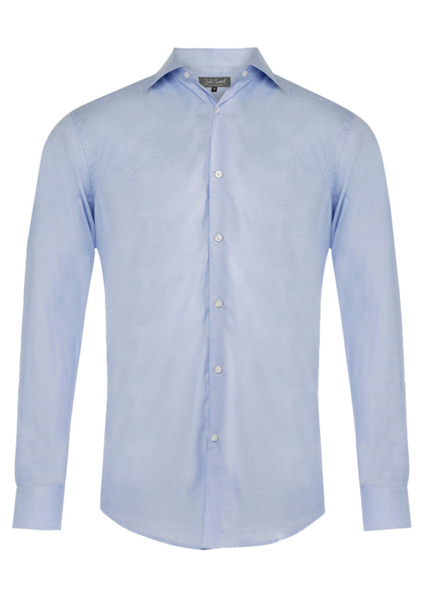 Blue Single Cuff Formal Shirt