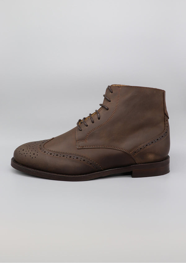 Crazy Horse Brogue Boot