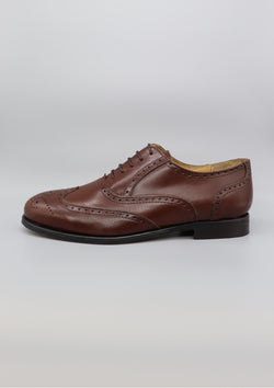 The Brogue - Brown Leather