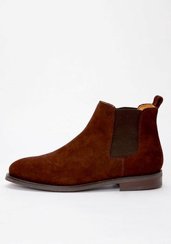 The Chelsea Boot - Brown Suede