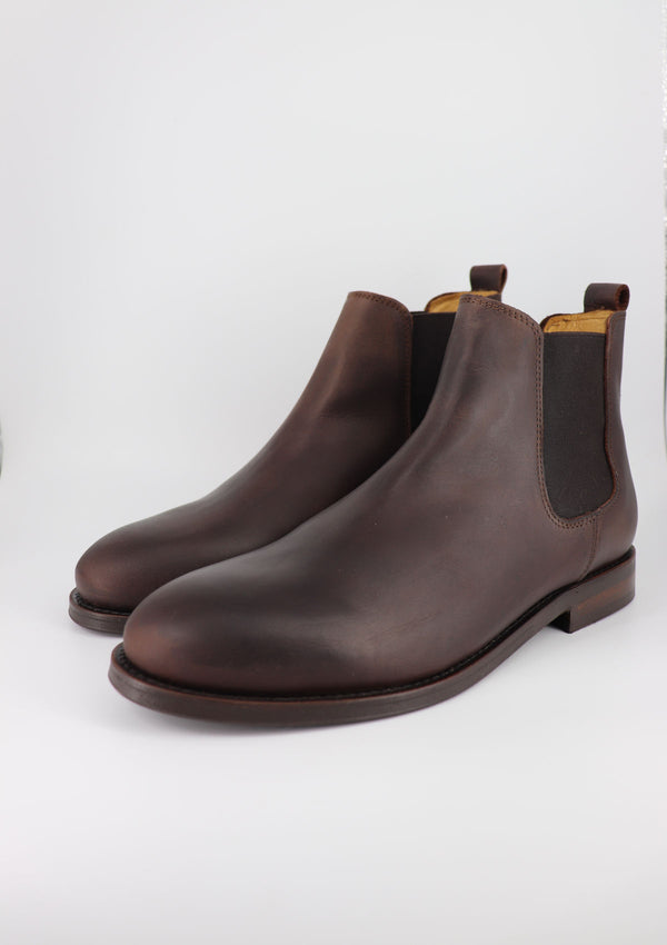 The Chelsea Boot - Dark Brown Leather