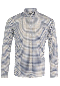 Green & Brown Double Check Shirt
