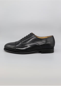 The Oxford - Black Leather
