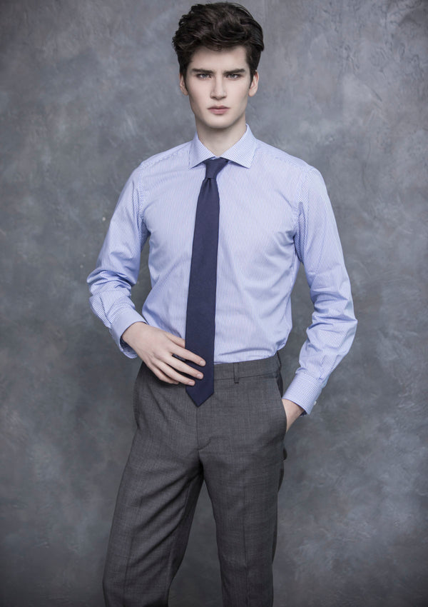Grey Prince Of Wales Check Wool Suit