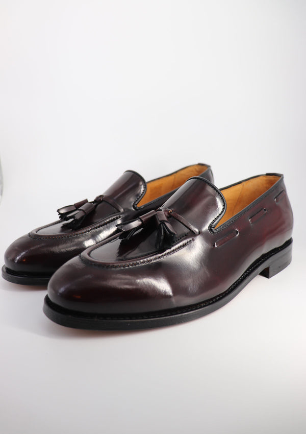 The Tassel Loafer - Burgundy Leather