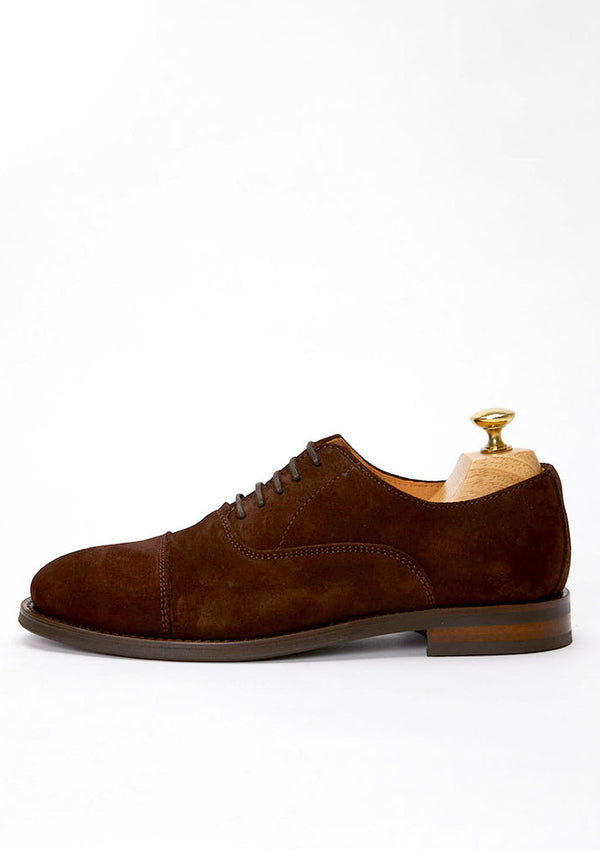 The Oxford - Brown Suede