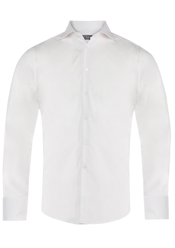 White Single Cuff Formal Shirt